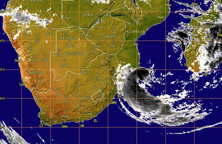 southern Africa satellite